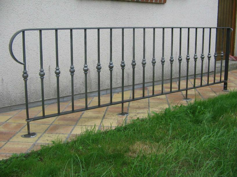 Rampe d 39 escalier for Idee rampe escalier